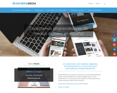 SembraMedia website